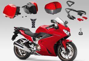 TOURING PACK VFR800F 14-16 (NH-B53P Pearl White)