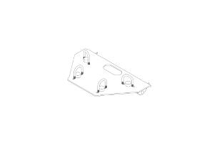 BLADE MOUNT KIT TRX420 14-/TRX500FE 14-/ Rub. 15-